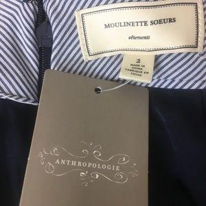 NWT Moulinette Soeurs Tweed Boucle Pencil Skirt 2